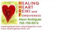 Healing Heart Reiki and Forgiveness